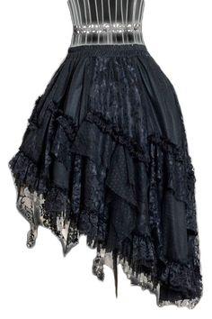 Dracula Clothing Skirt Gothic Witch