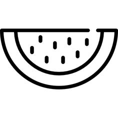 Slice of watermelon free vector icon designed by Freepik Easy Disney Drawings, Easy Doodles Drawings, Easy Doodle Art, Bff Drawings, Cute Easy Drawings, Mini Drawings, Cute Little Drawings, Art Drawings For Kids, Simple Doodles