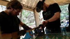 Our blacksmith instr
