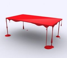 fragile-looking Blood Table