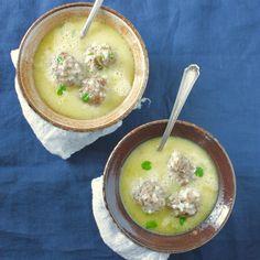 Greek Meatball Soup (Youvarlakia Avgolemono)