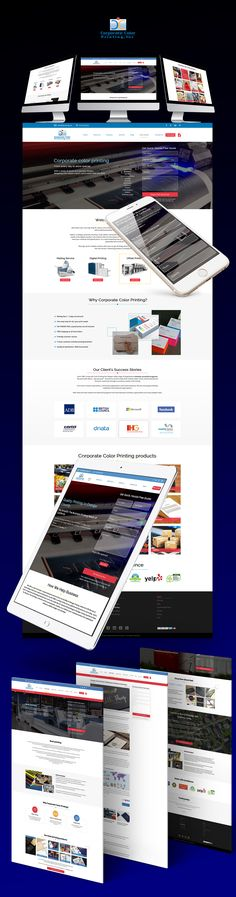 4Printing - corporate color printing company. The task was to redesign the existing site and to transfer it to the custom WP theme. I built the brand new website with a fresher design that works perfectly on all modern devices. The work performed: - Creation of the professional design that works on all devices. - Plugins set up: Custom field suite. Disqus(testimonial service). Contact-form 7. Google maps. Term of development - 1 month. Technologies: Photoshop, PHP, JS, Bootstrap.
