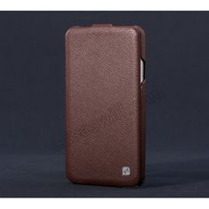 Original HOCO Luxury Genuine DUKE Leather Flip Case For Samsung Galaxy Note 3 III N9000 - Brown US$21.99