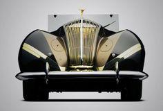 Art Deco Rolls Royce - 1939 - Phantom III Vutotal Cabriolet - Redesigned by Labourdette - @~ Mlle