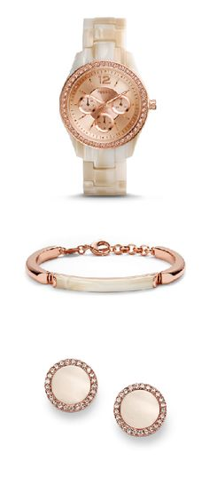 #Fossil Shimmer Horn Collection
