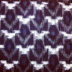 Love me some Japanese Ikat.
