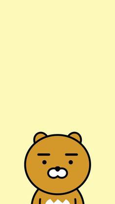 Friends Wallpaper, Couple Wallpaper, Bear Wallpaper, Kpop Drawings, Easy Drawings, Cute Wallpapers, Wallpaper Backgrounds, Iphone Wallpaper, Ryan Bear