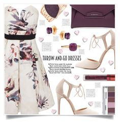 Throw and Go dresses by captainsilly on Polyvore featuring polyvore, fashion, style, Little Mistress, Charlotte Russe, Givenchy, Vince Camuto, Pomellato, Clinique, LASplash and clothing
