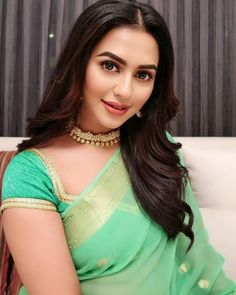 Nusrat Faria Hot HD Photos & Wallpapers for mobile Indian Wife, Indian Girls, Indian Ethnic, Silk Saree Blouse Designs, Beautiful Girl Image, Beautiful Women, Indian Beauty Saree, Beautiful Saree, Hottest Models
