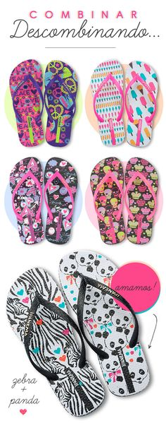 iPANEMA. We love these flip flops! http://shoedipity.com/index.php/brands/ipanema.html