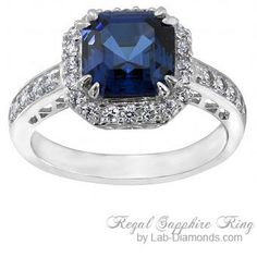 WHAT A DEAL!!Regal Lab Created Sapphire Ring