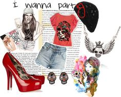 """I wanna party and ***** XD"" by shahdyaser on Polyvore"