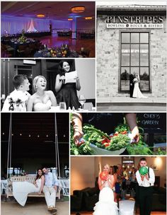 Contact me at Jenna@pinstripes.com For more info on planning your magical night with us at Pinstripes - South Barrington #wedding #pinstripes #venue #weddingvenue #barnfeel #somethingdifferent #funvenue #scratchkitchen #thinkoutsidethebox #ballrooms #uplighting #pipeanddrape #Bocce #bowling