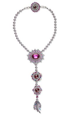 Jewelry Design - Single-Strand Necklace with Swarovski Crystal and Seed Beads - Fire Mountain Gems and Beads