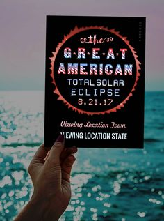 Total Solar Eclipse 2017 Souvenir Postcards + Party Supplies, T-Shirts & More | Celebrate the Great American Eclipse | https://www.zazzle.com/collections/great_american_solar_eclipse_august_2017_set-119735713303644105?rf=238713858877306074&TC=pinterest