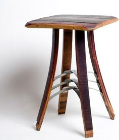This is actually a table, but initially I thought it was a cool bar stool.