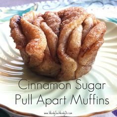 Sounds yummy will have to try some Saturday morning...Cinnamon Sugar Pull Apart Muffins