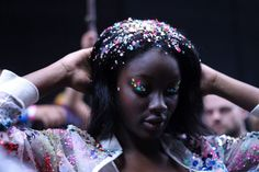 I couldn't think of a better designer to close my fashion week with than Ashish Gupta. By day five it often seems like everyone has had enough, but Ashish brings the fun and enthusiasm back with aband