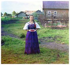 """Prokudin-Gorskii took color photos in Russia before Czar Nicholas II was overthrown. """"His ultimate goal was to educate the schoolchildren of Russia with his """"optical color projections"""" of the vast and diverse history, culture, and modernization of the empire."""" http://www.loc.gov/exhibits/empire/gorskii.html"""