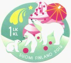 ◇Finland  2013    Ice bears on soft-ice-cream