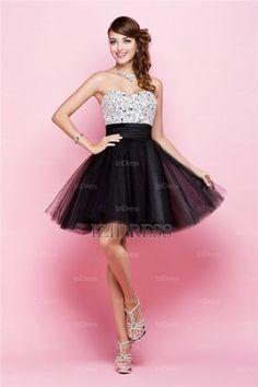 Love this dress   Ball Gown Strapless Sweetheart Satin Prom Dress - IZIDRESSES.com at IZIDRESSES.com
