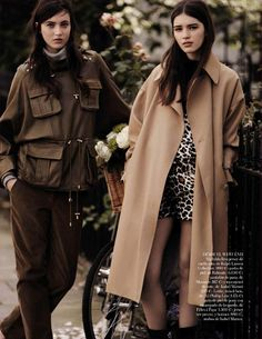 my generation: matilda lowther, eliza cummings and lottie hayes by ben weller for vogue spain october 2014