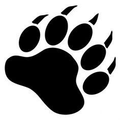 American Express Car Buying >> Bear Tracks and Grass Tattoo | Native American Bear Paw Print Black bear | tattoos | Bear paw ...