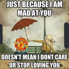 Man United fans this season and every season. Manchester United Champions League, David Beckham Manchester United, Manchester United Old Trafford, Manchester United Legends, Manchester United Football, Funny Soccer Memes, Soccer Quotes, Football Is Life, Football Memes