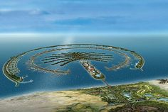 Palm Island, Dubai. (Made by the Dutch!)