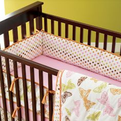 Cute baby girl bedding