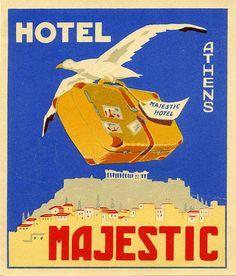 Hotel Majestic ~ Athens ~ Greece