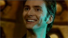 The immediate post regenerative 10th Doctor, before all the angsty lonely god stuff.