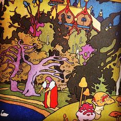 detail from a Russian Folk Tales book illustrated by Ivan Bilibin by maraid, via Flickr