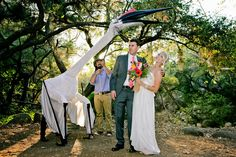 Here's a picture from our wedding. Our friend built the pterosaur. http://www.reddit.com/r/pics/comments/2dozsi/holy_crap_my_wife_and_i_work_in_paleontology_and/