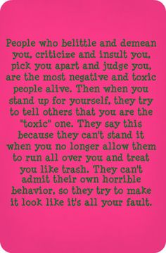 narcissists are the most dishonest people you'll ever met. They'll provoke you and verbally attack you. When you react to their abuse and defend yourself, they'll turn either rageful or play the victim in front of others to make you look bad. They are con artist who are spiteful and revengeful.