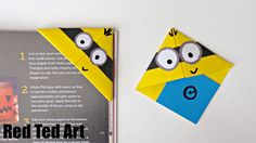 Love Minions? Looking for an easy Minion Craft? Check out our simple Minion Bookmarks. Easy and fun. Would be a great Minion Party Craft too!