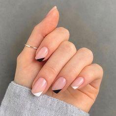 Frensh Nails, Chic Nails, Stylish Nails, Nail Manicure, Hair And Nails, Gel Nail, Shellac, Manicures, Nail Polish