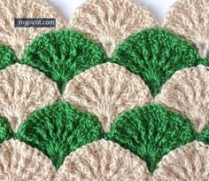 Free Crochet Pattern - Similar To The Paint Brush Crochet Pattern  http://ift.tt/1EN5Mpr
