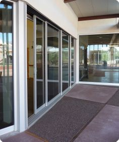 Commercial Interior Sliding Glass Doors sliding doors | death valley visitor center sliding doors open
