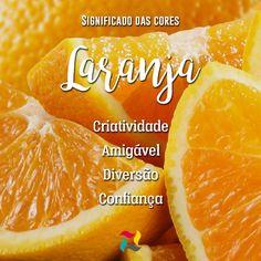 Laranja é a cor da alegria! É uma cor quente que traz muita empolgação, estimula a mente e renova a fé na vida. #laranja #SignificadoDasCores #UnigraphSoluções