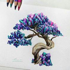 Crystal Bonsai By Chloe O'shea