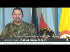 In Colombia, kidnapped policemen and soldiers have been held by guerilla forces for more than 12 years, hearing only the news that the guerillas want them to. Morse Code, Armed Forces, Coding, Ads, Baseball Cards, Youtube, People, Colombia, Messages