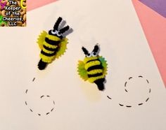 The Keeper of the Cheerios: Noodle Bee Craft