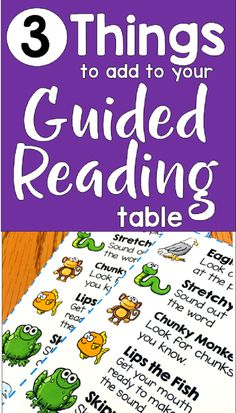 Need help teaching guided reading? This blog post provides many useful guided reading activities and strategies to use during guided reading.  These resources will help you make the most of your time at the guided reading table.
