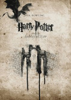 Harry Potter and the Goblet of Fire by Nir Vana Harry Potter Book Covers, Harry Potter Poster, Harry Potter Drawings, Harry Potter Pictures, Harry Potter Theme, Harry Potter Quotes, Harry Potter Love, Harry Potter Universal, Harry Potter Fandom