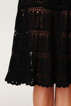Crochet skirt...  Falda tejida a crochet...