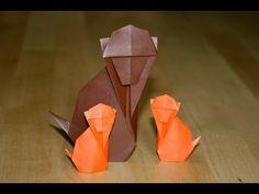 Origami - Singe traditionnel - Traditional Monkey [Senbazuru] - YouTube Geek Crafts, Fun Crafts, Paper Crafts, Origami Love, Origami Art, Origami Ideas, Origami Instructions, Origami Tutorial, Origami Monkey