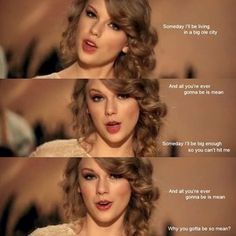 Mean by Taylor Swift