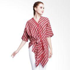 Batik Fashion, Ethnic Fashion, Girl Fashion, Blouse Batik, Batik Dress, Outer Batik, Kebaya Dress, Fashion Design Sketches, Blouse Designs