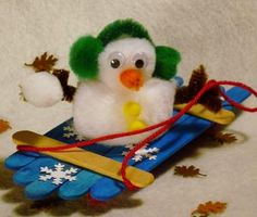 Mini Sled Craft for Kids - Craft Forum